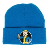 Fallout Vault Boy Blue Single Layer Cuff Beanie