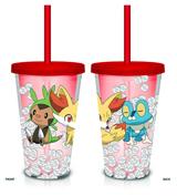 Pokemon Kalos Starters 18oz Confetti Carnival Cup