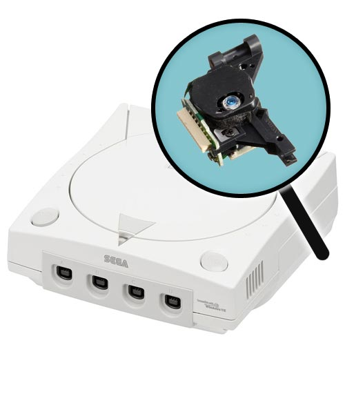 Dreamcast Repairs: Laser Pickup Replacement Service