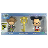 Kingdom Hearts: San Diego Comic-Con 2017 Figural Keyring 3 Pack