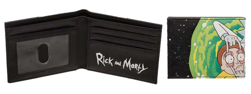Rick and Morty Bi-Fold Wallet additional angles