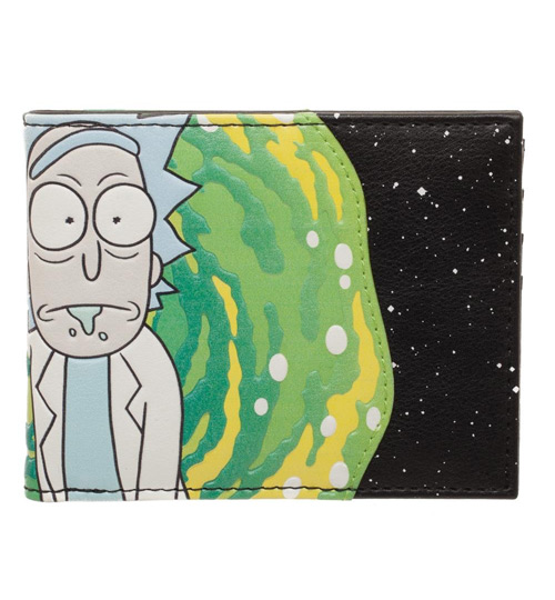 Rick and Morty Bi-Fold Wallet