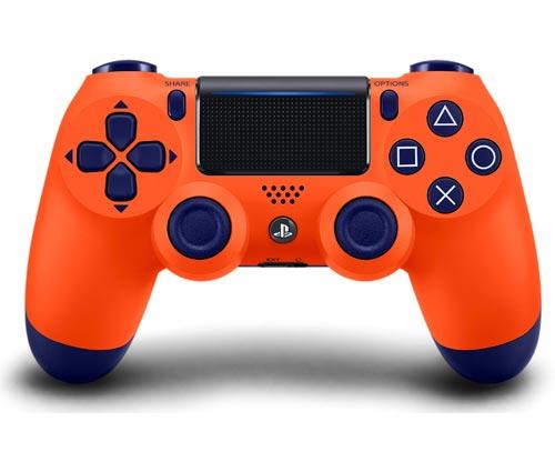 PlayStation 4 Dualshock 4 Controller Sunset Orange