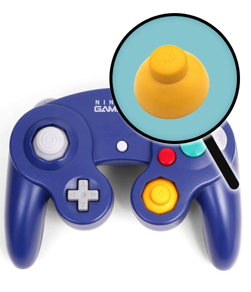 Nintendo GameCube Repairs: Controller Right Thumbstick Replacement Service