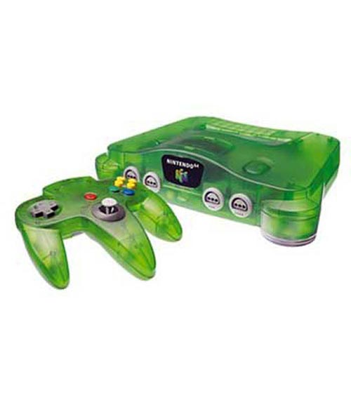 Nintendo 64 Funtastic Series Jungle Green System - Refurbished