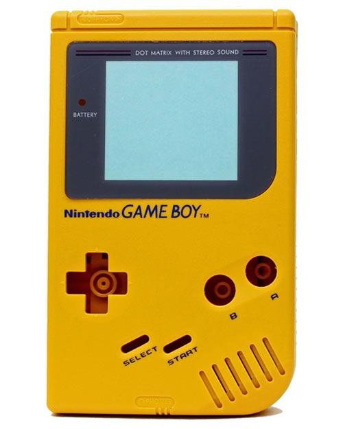 Game Boy Housing Shell Replacement Service Yellow