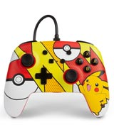 Nintendo Switch Wired Controller Pokemon Pikachu Pop Art