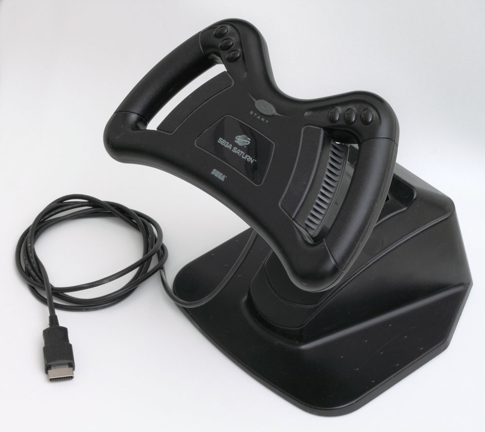 Saturn Arcade Racer Control by Sega