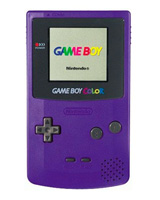 Nintendo Game Boy Color System Grape/Purple