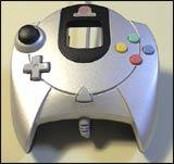 Dreamcast Controller Silver (Platinum) by Sega