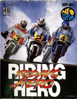 Riding Hero Neo Geo AES