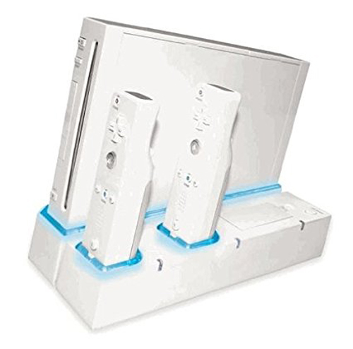 Nintendo Wii Remote Charging Stand with Batteries