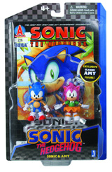 Sonic the Hedgehog: Sonic & Amy Comic Action Figure Pack