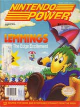 Nintendo Power Volume 37 Lemmings