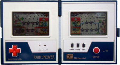 Game & Watch Multi-Screen Series: Rain Shower