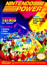 Nintendo Power Volume 9 Tetris