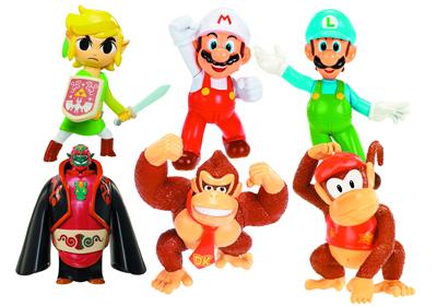 Nintendo 2.5 inch figures wave 2