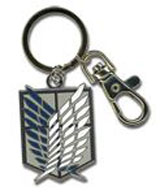 Attack on Titan: Scout Regiment Metal Keychain