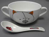 Bleach Kon Bowl and Spoon Set