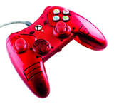 Xbox One Liquid Metal Red Wired Controller