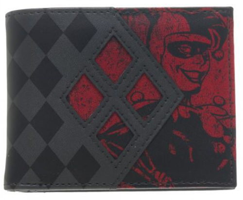 DC Comics Harley Quinn Bi-Fold Wallet