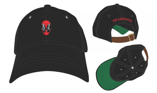 Marvel Deadpool Embroidered Dad Hat