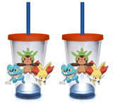 Pokemon LED Kalos Starters 18oz Carnival Cup