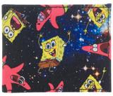 Sponge Bob Space Sublimated Bi-Fold Wallet
