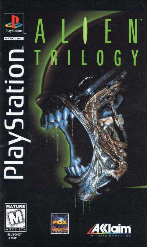 Alien Trilogy Long Box Version