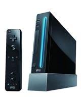 Nintendo Wii Model 1 Refurbished System Black - Grade A