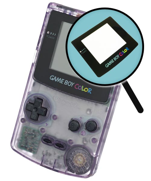 Game Boy Color Repairs: Glass Screen Cover Replacement Service