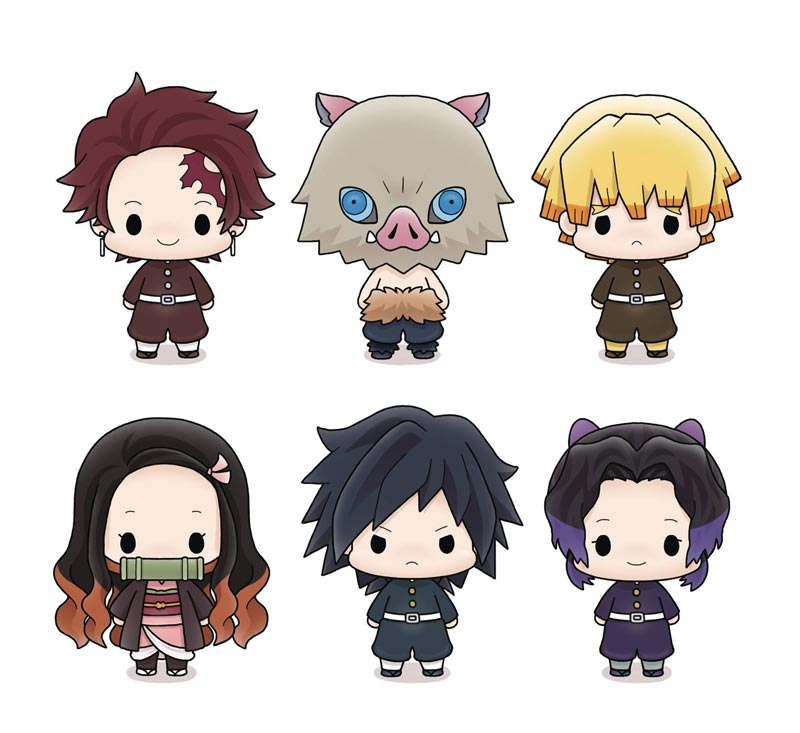Demon Slyer Chokorin Mascot Series BMB all characters