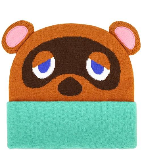 Animal Crossing Tom Nook Big Face Beanie