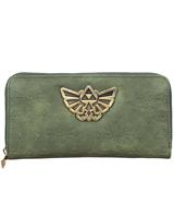 Zelda Hylian Crest Zip Around Wallet