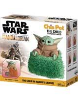 Star Wars Mandalorian The Child In Mandos Satchel Chia Pet