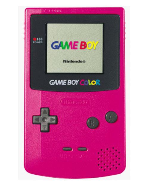 Nintendo Game Boy Color System Berry