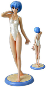 Evangelion Rei Swimsuit Statue