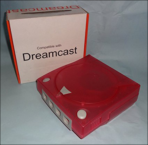 Dreamcast Red Color Shell / Case