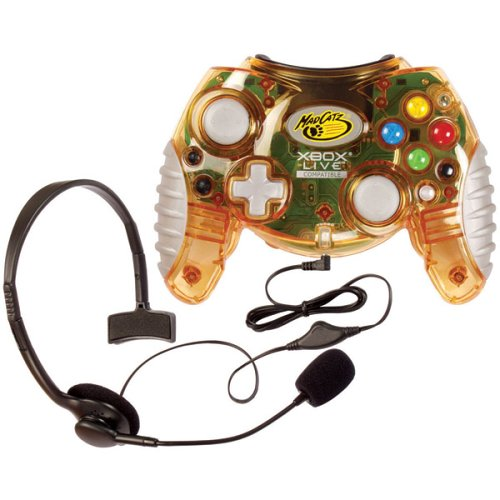 Xbox Live Controller with Headset by MadCatz