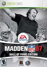 Madden NFL Football 07: Hall of Fame Edition