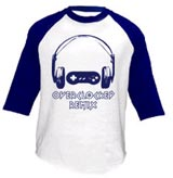 OverClocked Remix Official OCR Logo Jersey T-Shirt(Small)