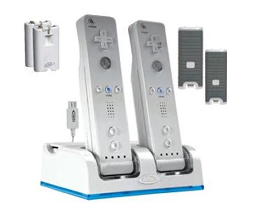Nintendo Wii Charging Dock with 4 batteries