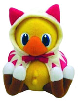 Final Fantasy Chocobo White Mage Plush