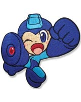 Mega Man Powered Up Winking Mega Man Patch