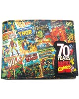 Marvel 70th Anniversary Bi-Fold Wallet