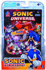 Sonic the Hedgehog: Sonic & Blaze Comic Action Figure Pack