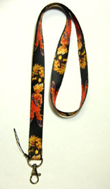 Dragon Ball Z Super Saiyan 2 and 3 Goku Lanyard