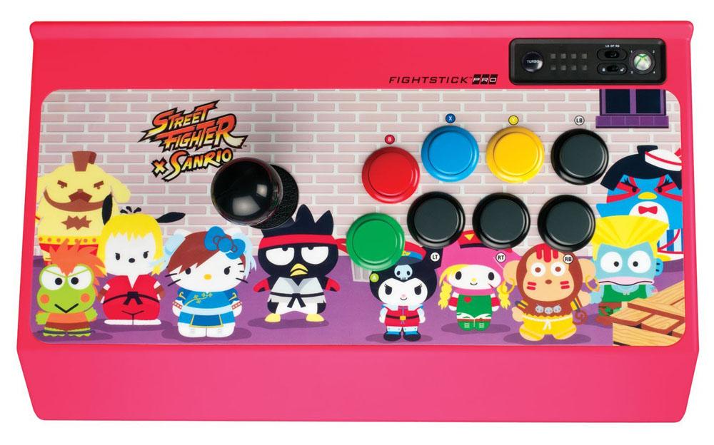 Xbox 360 Street Fighter x Sanrio Arcade FightStick PRO