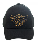Legend of Zelda Logo Black Flex Cap
