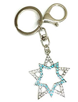Black Rock Shooter Star Keychain